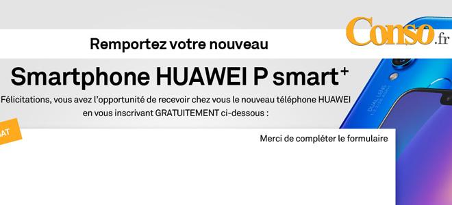 Gagnez un Smartphone Huawei