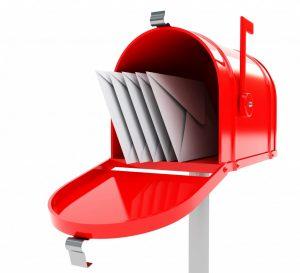 boite aux lettres messagerie courrier email courriel