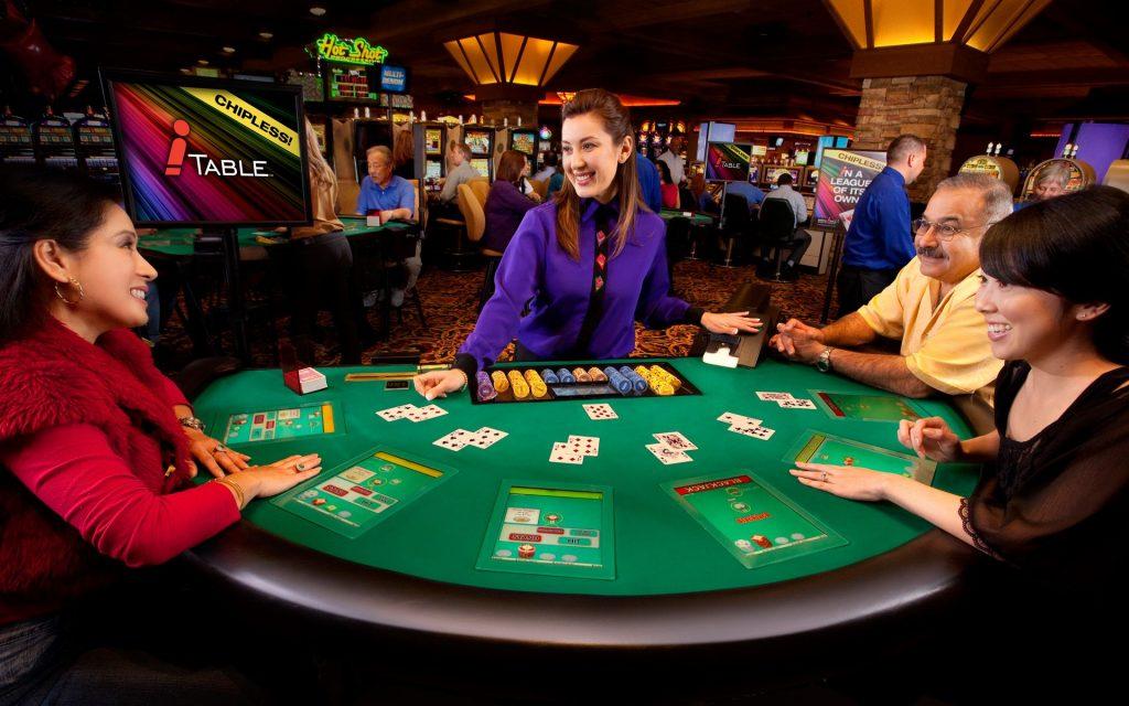 Barona Resort Casino Chipless Table
